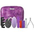Sephora Collection Deluxe Pedicure Kit - Purple Faux Snakeskin