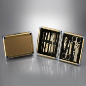 World No. 1, Three Seven 777 Travel Manicure Pedicure Grooming Kit Set - Nail Clipper (Total 11 PC, Model
