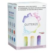 Supernail Acrylic Nail Kit, Glitterize