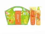 Fruits & Passion Fruity Shower Gel 200ml And Body Lotion 240ml Gift Set, Orange-cantaloupe