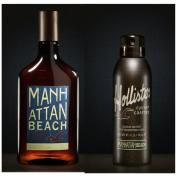 Mens Hollister Manhatten Beach Body Wash & Deodorant Body Spray Set