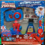 Spiderman Bath Battle Playset/Camera/Body Wash