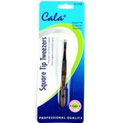 Elixir Beauty Cala Expert Square Tip Tweezers, Stainless Steel