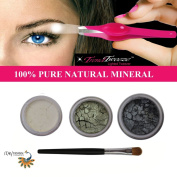 """ITAY """"Smokey Eye"""" Mineral Shimmer+ Stainless Steel G3 LED Lighted Trend Tweezers"""