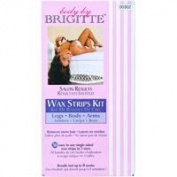 Body By Brigitte Salon Results Wax Strips Kit