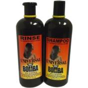 """Universal La Bomba Shampoo + Rinse 470ml """" Combo Set"""""""