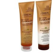 L'Oreal Paris EverSleek Repairative Smoothing Shampoo & Conditioner, 8.5-Fluid Ounce