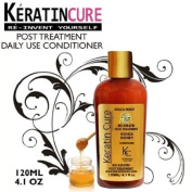 Keratin Brazilian Keratin Cure GOLD & HONEY BIO DAILY USE POST CONDITIONER 120ML 4.1 FL OZ Repair and maintain treatment 120ml 4.1 fl oz