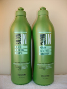 Saloon in Keratin Ultra Force Shampoo & Conditioner Set 310ml Sizes