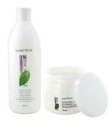 Matrix Biolage Hydra Therapie Hydrating Shampoo (33.8 oz) Conditioning Balm (16.9 oz) Duo