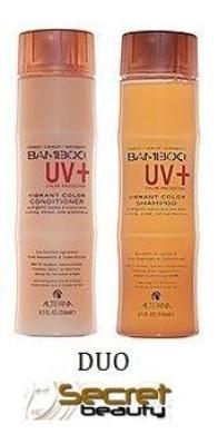 Alterna Bamboo UV Vibrant Colour Shampoo and Conditioner Duo 250ml