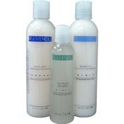 "Rejuvenol Keratin Shampoo 240ml + Conditioner 240ml + Frizz Away Shine 120ml "" Combo Set"""