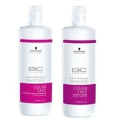 Schwarzkopf BC Bonacure Hair Therapy Colour Save Shampoo and Conditioner Litre Duo