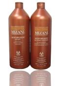 Mizani Moisturfusion Milk Bath + Silk Cream Conditioner 1000ml