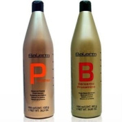 Salerm Proteinas Protein Shampoo 1060ml (1 Litre) & Salerm Protein Balsamo Conditioner 1020ml Combo Set