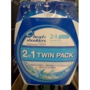 Head & Shoulders Pyrithione Zinc Shampoo + Conditioner Twin Pack