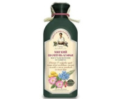 """Shampoo """"Soft"""" with Linseed Jelly, Rosehip Oil and Herbs for Coloured and Damaged Hair"""