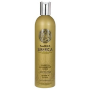 """NATURAL & ORGANIC Hair Shampoo """"Volume & Balance"""" for Oily Hair with Pinus Pumila, Arctic Raspberry Seeds, Organic Herb Extracts 400 ml"""