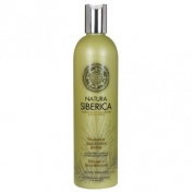 "NATURAL & ORGANIC Hair Shampoo ""Volume & Moisturising"" for Dry Hair with Pinus Pumila, Rosehip, Organic Herb Extracts 400 ml"
