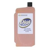 Body & Hair Care, Peach, Clear Amber, 1 L Refill Cartridge, 8/Carton