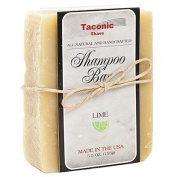 Taconic Shave LIME Shampoo Bar - All Natural / Handcrafted - 160ml