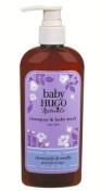 BabyHugo Shampoo & Baby Wash-Shea Butter & Chamomile - 240ml - Liquid