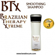 BTX BRAZILIAN THERAPY XTREME SMOOTHING SHAMPOO daily use POST-TREATMENT PINA COLADA 160ML 5 fl oz