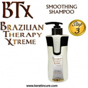 BTX BRAZILIAN THERAPY XTREME SMOOTHING SHAMPOO daily use POST-TREATMENT PINA COLADA 300ML 10 fl oz