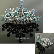 NEW PRINCESS HALLOWEEN COSTUME Crystal Crown Tiara H58