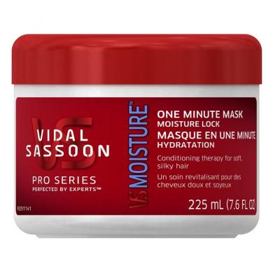 Vidal Sassoon Pro Series Moisture Lock 1 Minute Mask 220ml