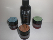 American Crew Men's Sample Your Style Travel Kit Gel Fibre Forming Cream Pomade