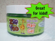 Zoo On Yoo Giant Giraffe Kid's Hair Gel - Green Apple 120ml