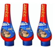Moco De Gorila Gel Rockero Medium Hold 350ml Pack of 3