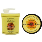 Jane Carter Nourish and Shine for Dry Hair and Dry Skin 120ml & Jane Carter Solution Curl Defining Cream 470ml Combo Set