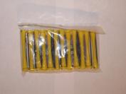 Perm Rods Short Yellow Lot of 3 Dozen