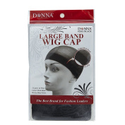 Donna Large Band Wig Cap