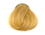 #27/613 Dark Golden Blonde with Platinum Highlights, 15cm Sample of Clip on in Human Hair Extensions Set