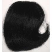 LITTLE-FILL-IN Clip On Wiglet Hairpiece Wig #1 JET BLACK by MONA LISA