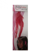 Rocken Feathers Kids Club Natural Hair Extention Hand Made in the USA -Red