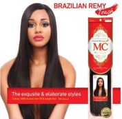 Michelle Human Hair Blend Weave Brazilian Remy Touch Yaki 20cm  - 1.