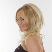 Bodywave Volume TiHaira Hairpiece | Add Length and Volume | Monroe- Platinum Blonde