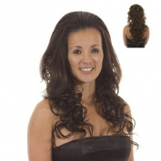 Brown Curly Volume Half Wig Hairpiece | Adding Extra Volume and Length | Hair Extensions | Colour