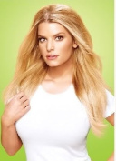Jessica Simpson Bump up the Volume Clip in Extension-r130 Dark Copper