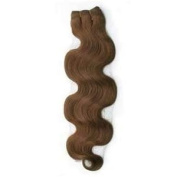 NEW 40 Pcs 100 Grammes 50cm Remy Double Sided Tape in Body Wave 100% Human Hair Wavy Extensions #6 Ash Brown