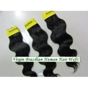 Body Wave 46cm Brazilian Virgin Remy Human Hair Weave Weft 3 Bundles 300 Grammes Unprocessed Natural Colour Extensions 100% Brazilian Human Hair Extensions
