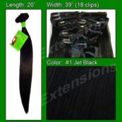 #1 Jet Black - 50cm SKU-PAS925600