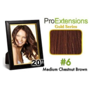 ProExtensions #6 Medium Brown Pro Cute - Gold Series