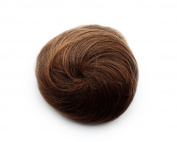 Fashion Donut Clip-on Dish Hair Bun Tray Ponytail Extension Hairpiece Wig Light Brown