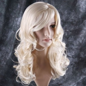 . long curl blonde hair wig Party Perruque