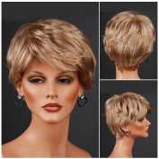 Women's Short Light Brown Wig Party Wig For Women